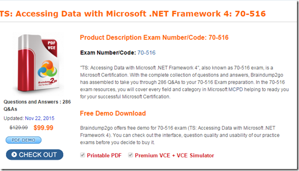 download ebook 70-516