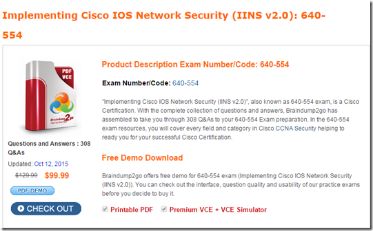 Download Cisco Exams - Free VCE Exams For All