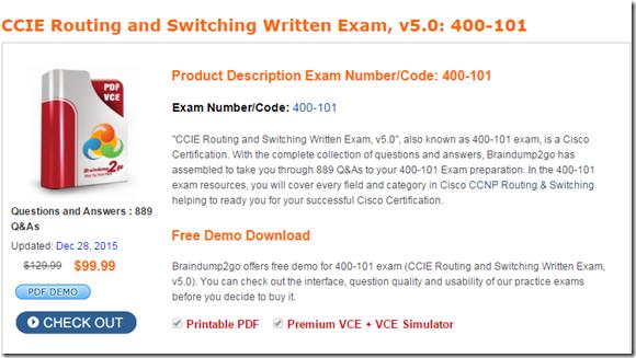 Cisco exam vce