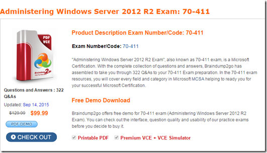 exam 70-411 study guide pdf free download