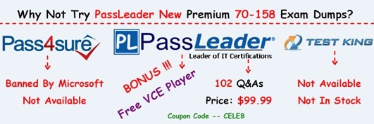 PassLeader 70-158 Exam Dumps[26]