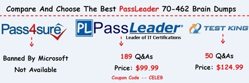 PassLeader 70-462 Brain Dumps[27]