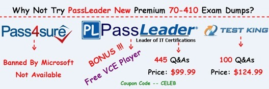 PassLeader 70-410 Exam Dumps[18]