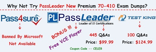 PassLeader 70-410 Exam Dumps[25]
