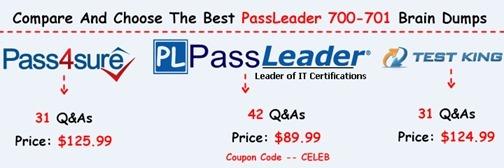 PassLeader 700-701 Brain Dumps[17]