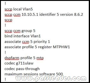 Cisco CCNP Collaboration 300-080 CTCOLLAB Dumps With VCE and PDF