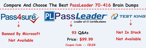 PassLeader 70-416 Brain Dumps[23]