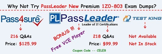 PassLeader 1Z0-803 Exam Dumps[11]