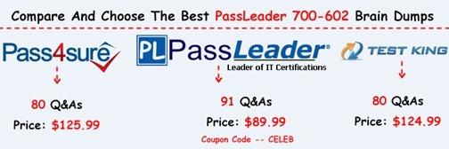 PassLeader 700-602 Brain Dumps[24]