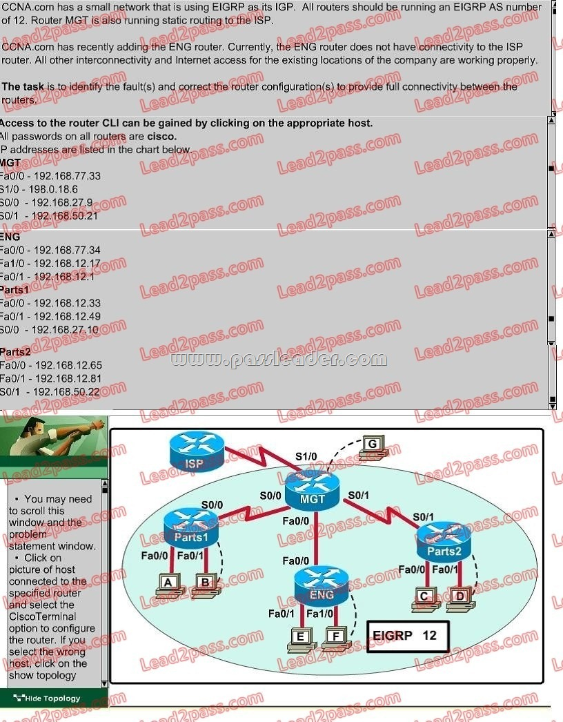 Cisco Ccna 200 105 Dumps With Vce And Pdf Download Question 141