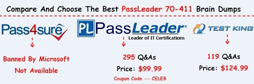 PassLeader 70-411 Brain Dumps[18]