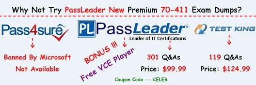 PassLeader 70-411 Exam Dumps[9]