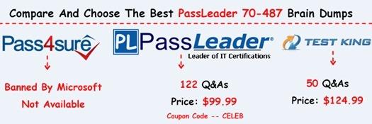 PassLeader 70-487 Exam Questions[26]
