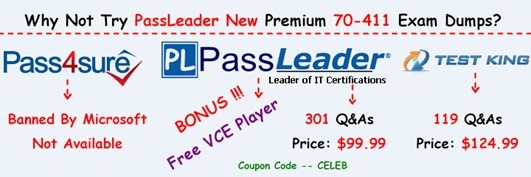 PassLeader 70-411 Exam Dumps[7]