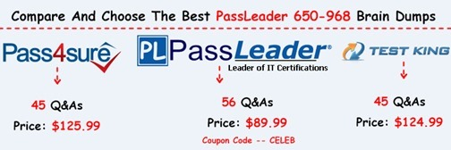 PassLeader 650-968 Brain Dumps[16]